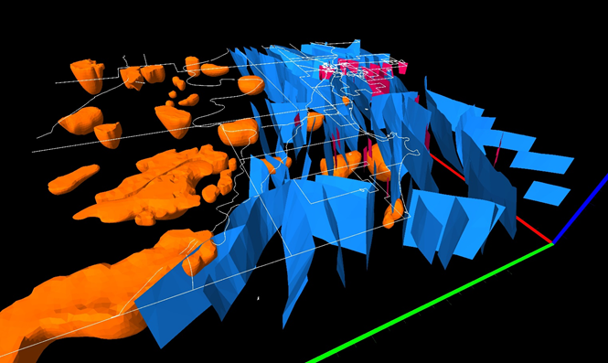 View surfaces, faults, 3D objects, and more in the 3D View